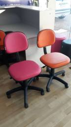 Cadeira modelo secretaria, Cadeira giratória