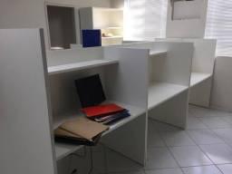 Baias Call Center - Mesa de Escritório - Estação de Trabalho comprar usado  Ipatinga