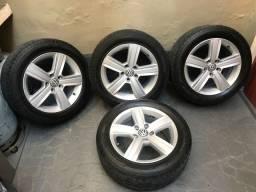 Rodas Vw Dover com pneus pirelli só 1.800
