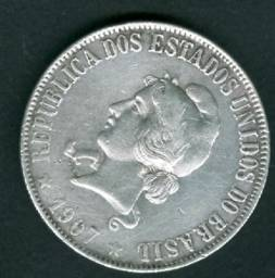 Moeda de prata 2000 Réis - 1907