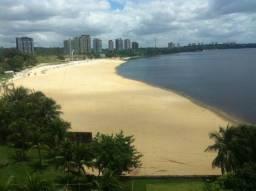 Que vista maravilhosa do Rio Negro ! Flat Tropical mobiliado