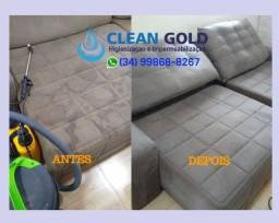 Limpeza e Higienização de Estofados, cadeiras, sofás, colchões