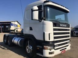 Scania R 124/400 2003 6x2,ótimo de mecânica e pneus,troco por Scania ou FH 2016 !!!