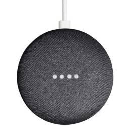 Caixa De Som Google Home Mini Chalk Ga00210-Us Com Wi-Fi E Bluetooth