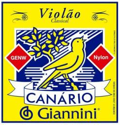 Cordas para violão nylon Giannini Canário