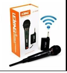 Microfone sem fio- loja jk acessórios