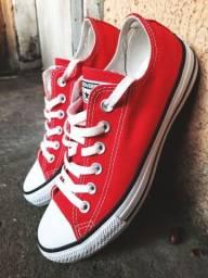 All star ORIGINAL vermelho UNISSEX