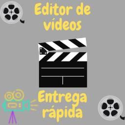 Editor de vídeos e dublagem