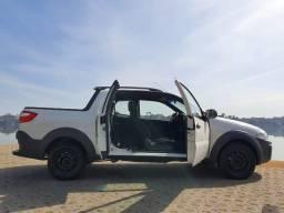 Fiat Strada 1.4 Hard Working Cabine Dupla 2018 Único Dono