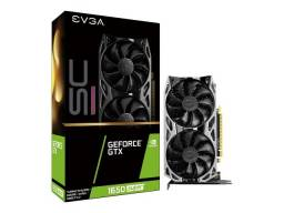 Placa de video Evga Geforce Gtx 1650 Super SC Ultra gaming 4gb Menor preço do Brasil