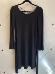 Vestido Iódice cor preto TAM M