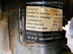 Motor bomba a diesel