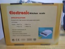 balança de cozinha digital de 10kg (novo)