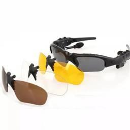 Título do anúncio: Óculos com fone sem fio bluetooth