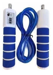 Título do anúncio: Corda De Pular Com Contador Exercícios Atividades 2,60m