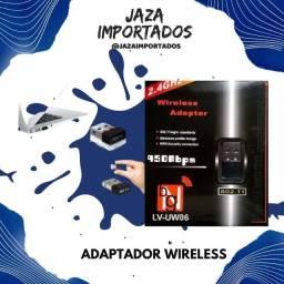 Adaptador Wireless USB - Solução para seu computador ou notebook !