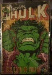 O Incrível Hulk N° 1 - Editora Rge - Ele Está De Volta!