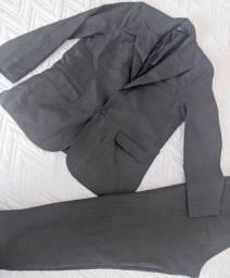 Título do anúncio: Terno/paletó  com calça tamanho 42