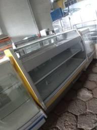 Balcão vitrine 2 em 1 refrigerada e aquecida - João