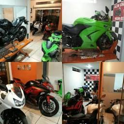 Kawasaki ninja 250 300 400 Consertos E Revisão