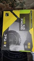 Vendo placa de vídeo Zotac 1050ti 4gb