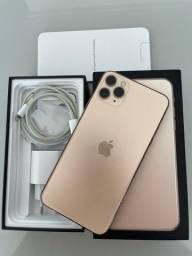 Iphone 11 Pro Max 64gb Gold IGUAL A NOVO todo original