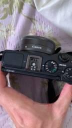 Camera semi profissional Canon EOS M3 com duas lentes