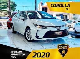 Título do anúncio: Toyota Corolla gli 2020 único dono