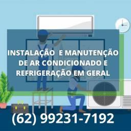 Manutenção  e instalação  em todos tipos de ar condicionado