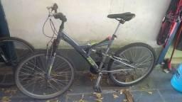 Bicicleta Caloi 21 marchas revisada dupla suspensão