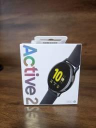 Smartwatch Galaxy Watch Active 2preto LACRADO com NF e garantia.