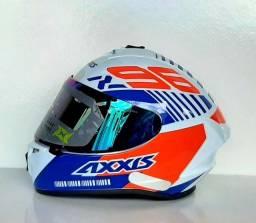 Título do anúncio: Capacetes AXXIS Modelos Eagle e Draken Super Sport