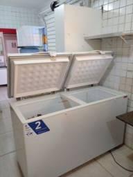 Título do anúncio: Freezer horizontal dupla ação Fricon