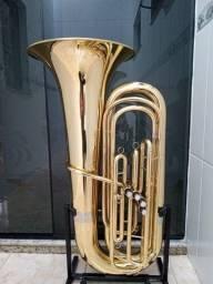 Tuba 4/4 Weril Master J951 Sib Zerada/Troco-Parcelo 12x