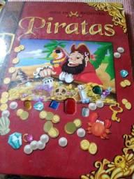 Promoção Livros Infantil Guia de Aventura Piratas