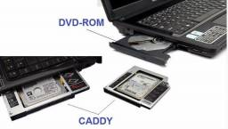 Caddy HDD - Adaptador de HD para Notebook +9.5