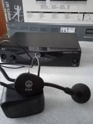 Título do anúncio: Microfone de cabeça AKG