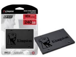 SSD Kingston+ formatação no local