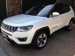 Título do anúncio: Jeep Compass Limited Pérola com Teto