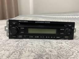 Rádio original Mitsubishi