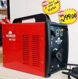 Máquina de solda 150A Bivolt - Worker