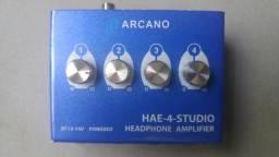 Amplificador de fones Arcano Hae-4 Studio Usado