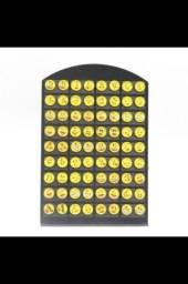 Vendo brincos emoji 3,00$ o par