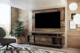 Bancada Genebra+Painel Delfos+Kit Suporte TV-Colibri