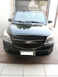 Gm - Chevrolet Agile Agile LTZ 1.4 Preto 2012/2012 - 2012