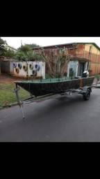 Vendo barco Mogi Mirim 5m - 1991