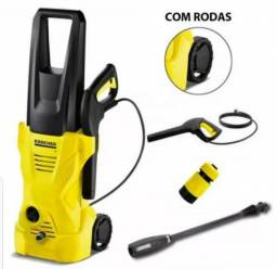 1 Lavadora De Alta Pressão Com Rodinha - 1600 Lbs - 110v ou 220v
