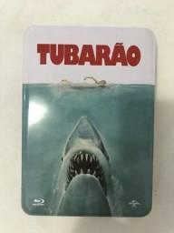 Lata Blu-ray Tubarão Edição de Colecionador