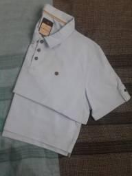 Camisa gola polo