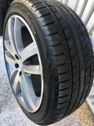 Rodas aro 18 com pneus novos!
